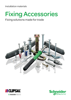 Fixing Accessories - Fixing solutions made for trade. Installation materials, 124850