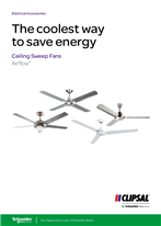 Airflow Ceiling Sweep Fans - The coolest way to save energy, 138650