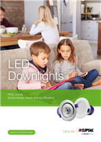 Subtle design meets energy efficiency - TPDL Series LED Downlights, 130005