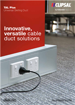 TAL Plus Universal Skirting Duct. Innovative, versatile cable duct solutions, 23227