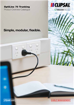 OptiLine 70 Trunking Product Overview Catalogue. Simple, modular, flexible, 25138