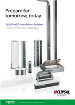 Prepare for tomorrow, today. OptiLine 50 Installation System Product Overview Catalogue, 125006