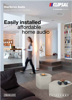 StarServe Audio, Audio Distribution System, Easily installed affordable home audio, 23596