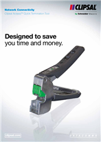 Network Connectivity - Clipsal Actassi Quick Termination Tool. Designed to save you time and money, 27224