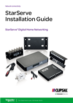 StarServe Digital Home Networking Installation Guide, 134783