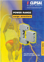 Power Range Surge Arresters Technical Data, 262-625