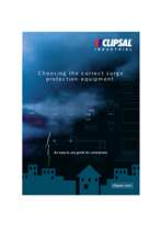 Choosing the correct surge protection equipment. An easy to use guide for contractors