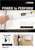 Power to Perform, DIN Rail mounted Switched Sockets