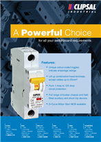 A Powerful Choice, for all your switchboard requirements