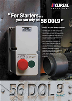 56 DOL9 Series 2 - Direct On-Line Motor Starter