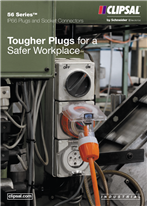 56 Series, IP66 Plugs and Socket Connectors, Tougher Plugs for a Safer Workplace, 24132