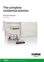 Clipsal Resi MAX Circuit Protection - The complete residential solution, 124301