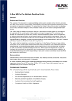 Technical Specifications - Standards and Compliance - MDUs