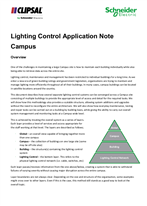 Lighting Control Application Note Campus, 26925