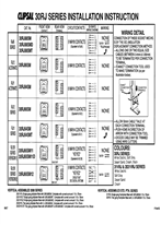 Installation Instructions - 30RJ Series - F794/02