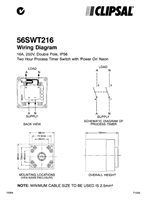 Wiring Instructions - 56SWT216 - F1005