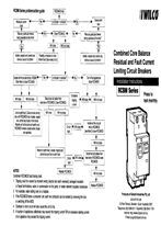 Installation Instructions - Combined Core Balance Residual and Fault Current Limiting Circuit Breakers - RCBM Series - F1145/01