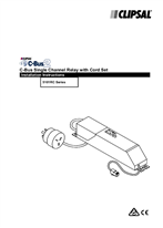 Installation Instructions - 5101RC Series C-Bus2 Single Channel Relay with Cord Set - F1036342