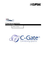 General Instructions - 5000CG Series C-Bus2 C-Gate Server Application Command Interface