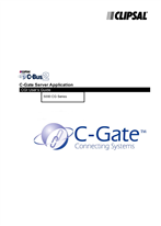 Operating Instructions - 5000CG Series C-Bus2 C-Gate Server Application CGI User's Guide