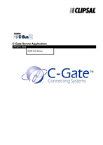 General Instructions - 5000CG Series C-Bus2 C-Gate Server Application What's New (C-Gate V1.5)