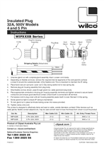 Installation Instructions - Wilco Insulated Plug WIPXXXB Series, 17669