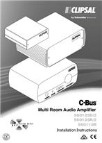 Installation Instructions - F2235 - C-Bus Multi Room Audio Amplifier.