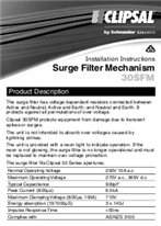 Installation Instructions - F965/04 - 30SFM Surge Filter Mechanism, 21197