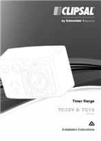 Installation Instructions - F339/03 - TC32V & TC15 Series Timer Range, 21201