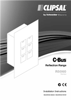 Installation Instructions - F1865/02 - R5060 Series C-Bus Reflection Range, 21202