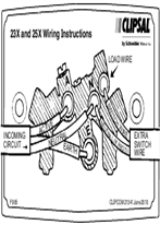 Installation Instructions - F995 - 23X and 25X Wiring Instructions, 21341