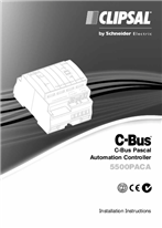 Installation Instructions - F1948/02 - 5500PACA C-Bus Pascal Automation Controller, 21342