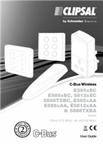 Installation Instructions - F1984/01 - C-Bus Wireless - E585xEC, E588xEC, 5812xEC, 5888TXBC, E585xAA, E588xAA, E5812xAA, 5888TXBA, China (315MHz). UK (433.92MHz), 23009