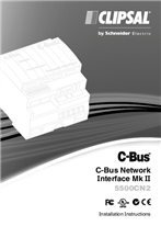 Installation Instructions - F2358/01 - 5500CN2 C-Bus Network Interface Mk II, 23435