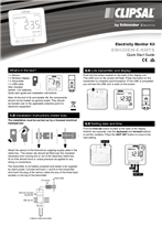 Operating Instructions - F2374/01 - EM422EM-E-KMTS Electricity Monitor Kit, Quick Start Guide, 23819