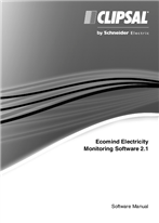 Operating Instructions - F2366/01 - Ecomind Electricity Monitoring Software 2.1 Software Manual, 23643