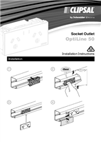 Installation Instructions - F2450/01 - OptiLine 50 Socket Outlet, 27264