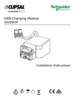 Installation Instructions - F2449/02 - 30USBCM USB Charging Module
