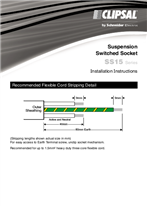 Installation Instructions - SS15 Series Suspension Switched Socket - F073/06