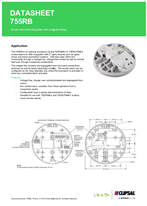 Product Data Sheet - 755RB Smoke Alarm Mounting Base with Integrated Relay, 755RB_161215_v1