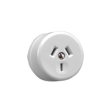 socket surface 3pin 10a 250v