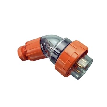 plug top ip66 angled 5pin 10a