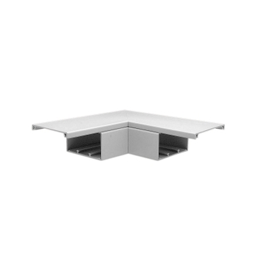 elbow flat trunking 75x75mm