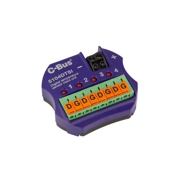 c-bus 4ch digital temp.sensor input unit