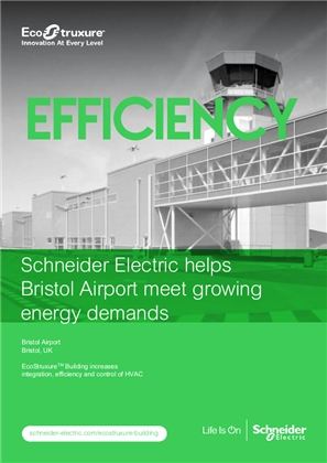 Schneider Electric helps Bristol Airport meet growing energy demands