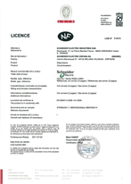 Licence NF Reflex iC60H according to EN 60947-2:2006