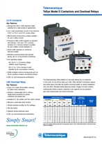 TeSys Model D Contactors and Overload Relays