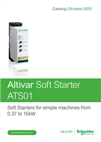 Catalog: Soft starters Altistart 01