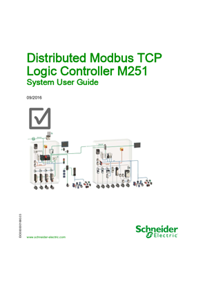 Distributed Modbus TCP - Logic Controller M251, System User Guide