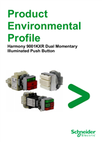 9001KXR Dual Momentary Illuminated Push Button, Product Environmental Profile